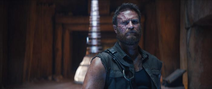 """JOSH LAWSON as Kanoin New Line Cinema's action adventure """"Mortal Kombat,"""" a Warner Bros. Pictures release."""
