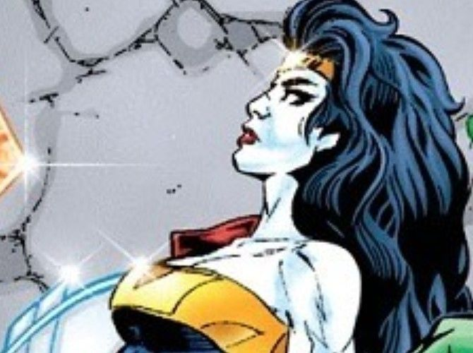 Wonder Woman in DC Future State Year 853