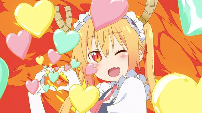 Tohru in Miss Kobayashi's Dragon Maid S Episode 1. Photo from Kyoto Animation.