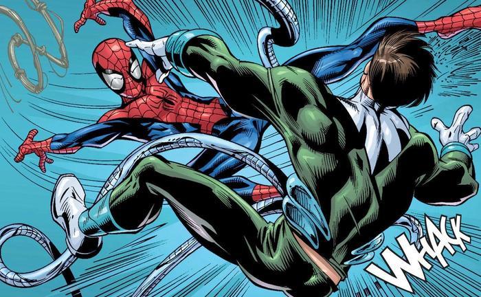 doc ock vs spiderman in comics