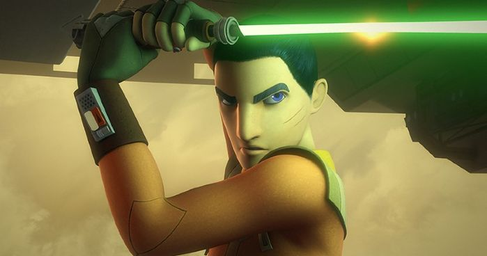 Ezra Bridger in Star Wars Rebels.