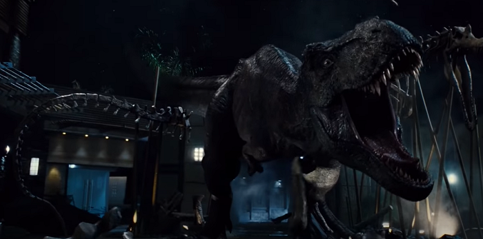 jurassic world rexy