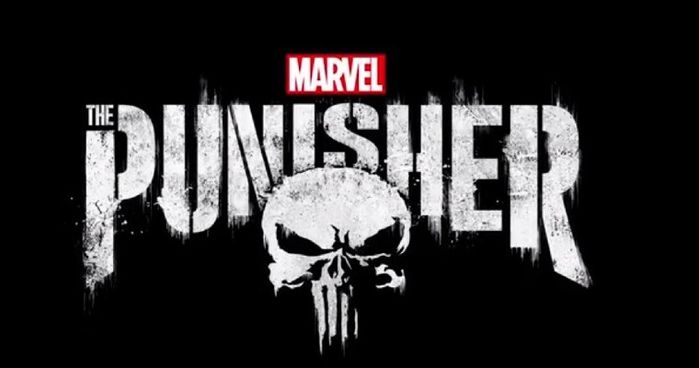 The official logo for Netflix's The Punisher.
