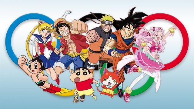 Tokyo Olympics Anime
