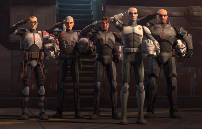 Star Wars The Bad Batch Formation