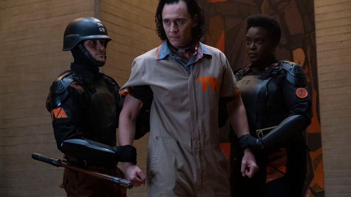 Tom Hiddleston in Loki TV series