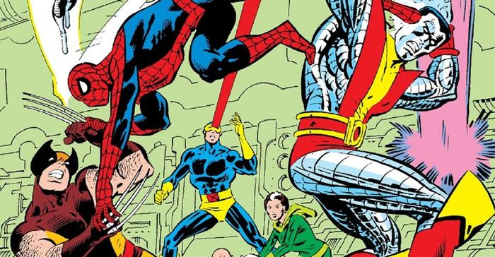 spider-man and xmen in marvel comic