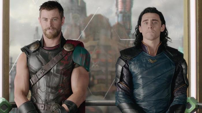 Thor and Loki in Thor 3 ragnarok