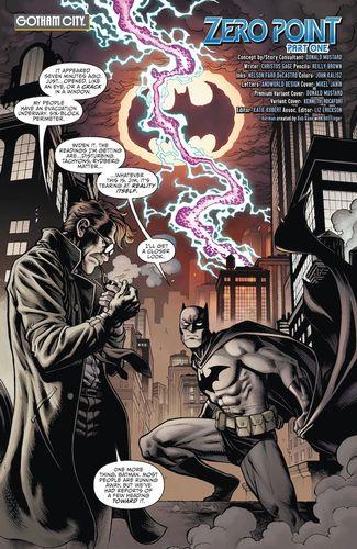 Batman/Fortnite: Zero Point #1 - First Page