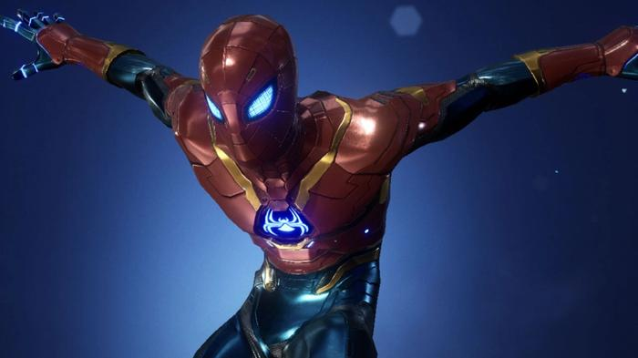 The New Stark City costume is one of the best for a Marvel Future Revolution Spider-Man PVP build.