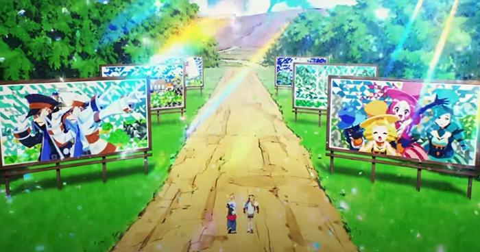 An Ingo and Emmet cameo appearance in the GOTCHA Pokemon music video.