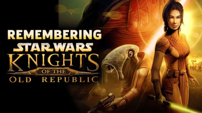 The cover for Knights of the Old Republic (KOTOR).