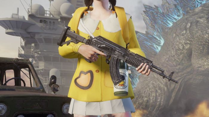The M762 AR is one of the best PUBG Mobile Assault rifles.