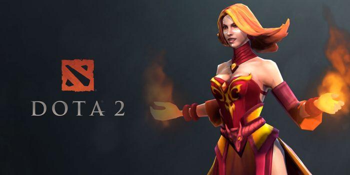 Lina's DOTA 2 cover image