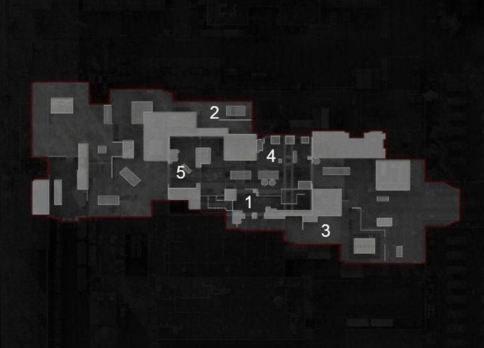 Garrison Black Ops Cold War Hardpoint Rotations