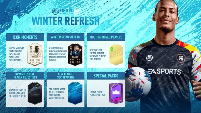 fifa 20 winter refresh news