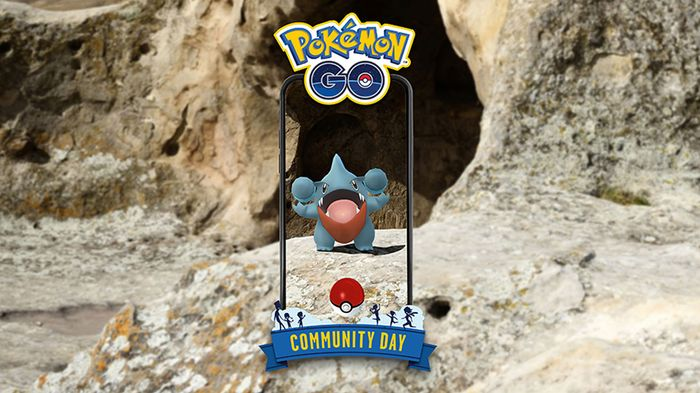 Pokemon GO June 2021 Community Day featuring Gible.