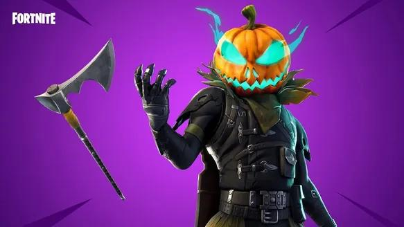 Hollowhead is the perfect Fortnite skin to set you into the Halloween mood.