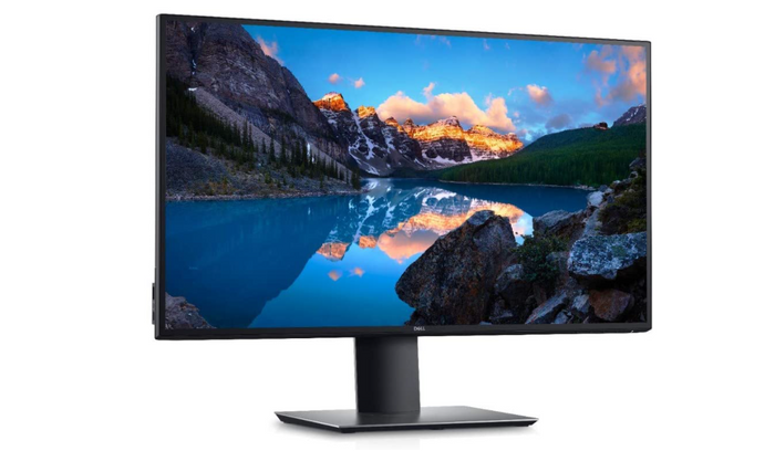 Best USB-C Monitor 27-inch, product image of a black monitor