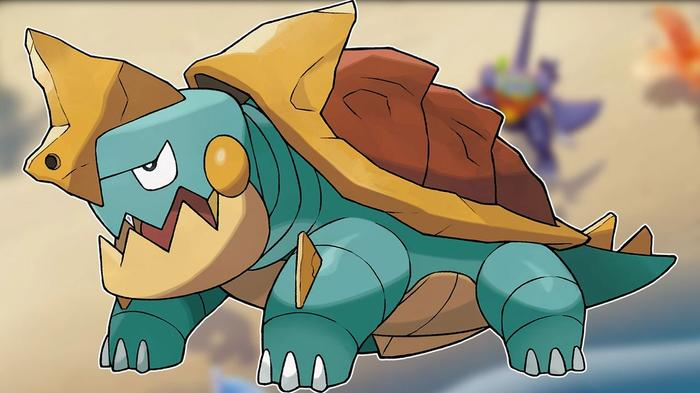 Defeat Drednaw to level up fast in Pokemon Unite.