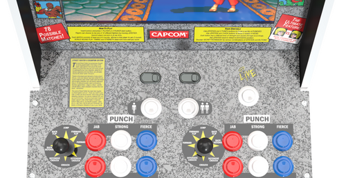 Arcade1Up Are Bringing Back Street Fighter II, Ms. PAC-MAN, and Turtles In Time