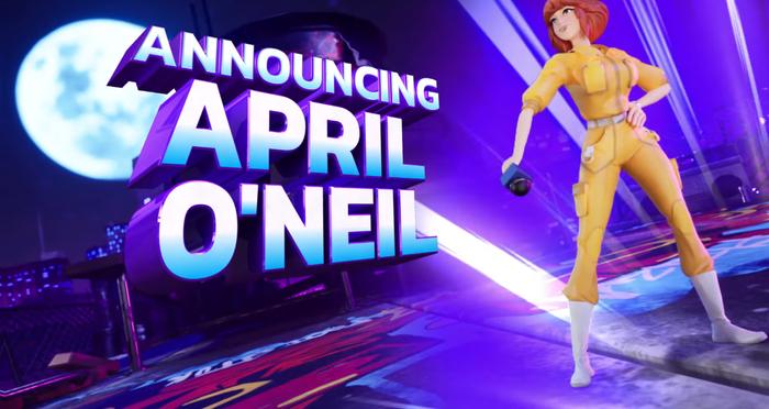 Nickelodeon All-Star Brawl April O' Neil Reveal