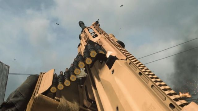 Warzone RAAL MG Disappeared