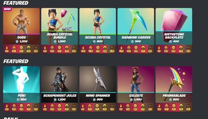 You need to manually add all the skins to your wishlist.