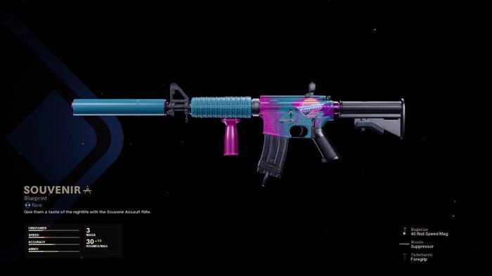 XM4 Warzone Blueprint
