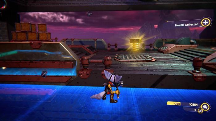 Ratchet and Clank Rift Apart Gold Bolt 23