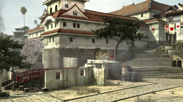 Overview of Castle Map From Call of Duty: World at War