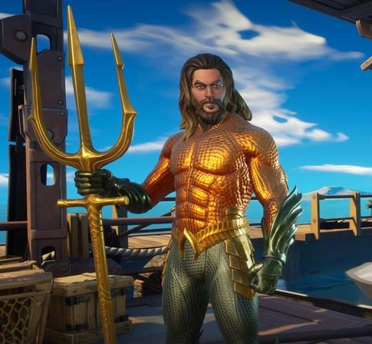 Arthur Curry makes his long-awaited appearance in Fortnite