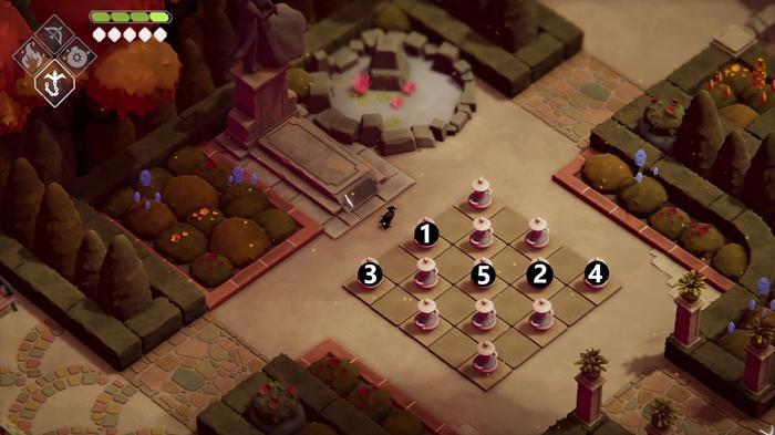 Family Tomb puzzle solution in Deaths Door