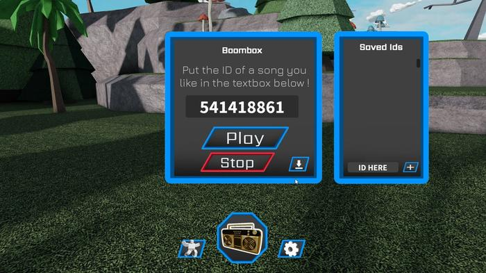 Using Roblox music codes in the Free Radio game on Roblox.