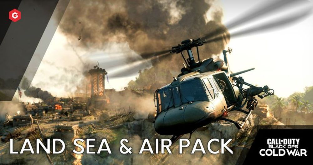 Black Ops Cold War: What's In The Land, Sea And Air Pack