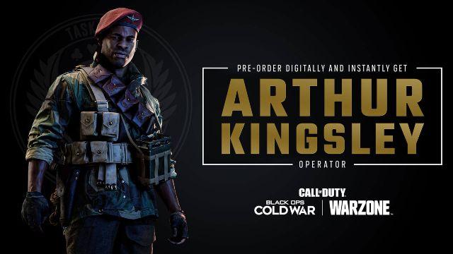 Arthur Kingsley Warzone Operator