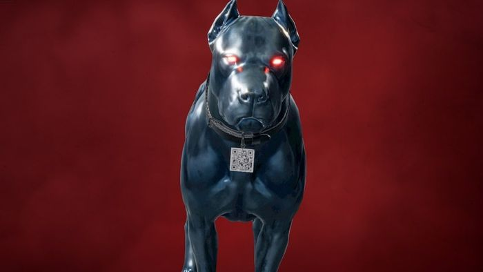 Far Cry 6's K-9000 Amigo, part of the Blood Dragon DLC, has a QR code on his collar that you can use your phone to scan.