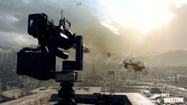 Warzone Sentry Gun Killstreak Season 4 Reloaded