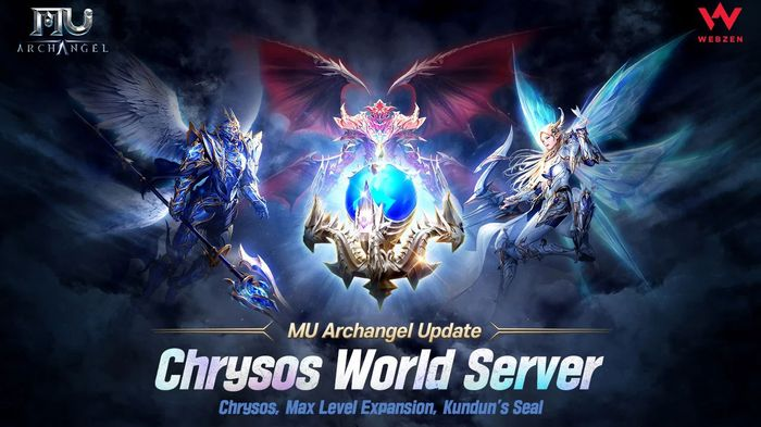 A promotional image for MU Archangel's June 2021 update.