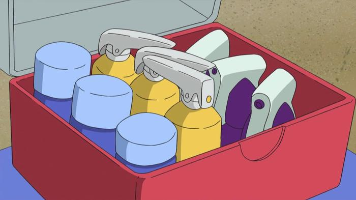 Potions in the Pokémon anime.