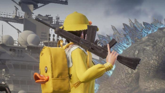 The S12K shotgun in PUBG Mobile.