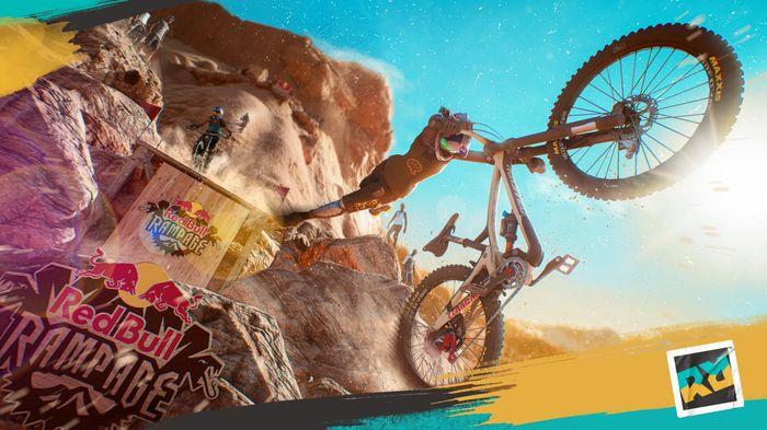 Screenshot from Riders Republic. Ubisoft at E3