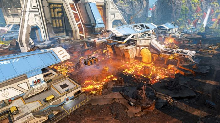Sorting Factory has become a lava fissure in the Apex Legends Season 10 map changes.