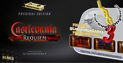 Castlevania Requiem Is Getting A Physical Release On PS4