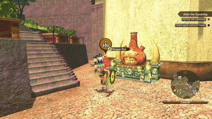 The Prayer pot in Monster Hunter Stories 2