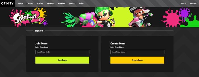 (Hub's Team Formation Page - Desktop)