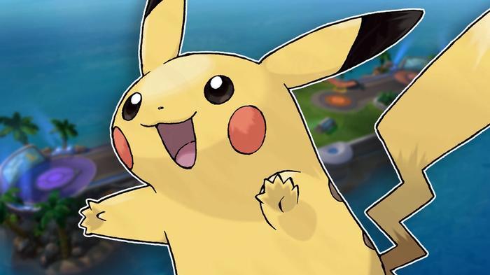 Pokémon Unite Pikachu build profile.