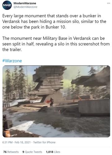 Warzone Season 2 Missile Silos