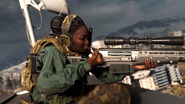 Warzone Sniper Rifle Buff Iron Trials