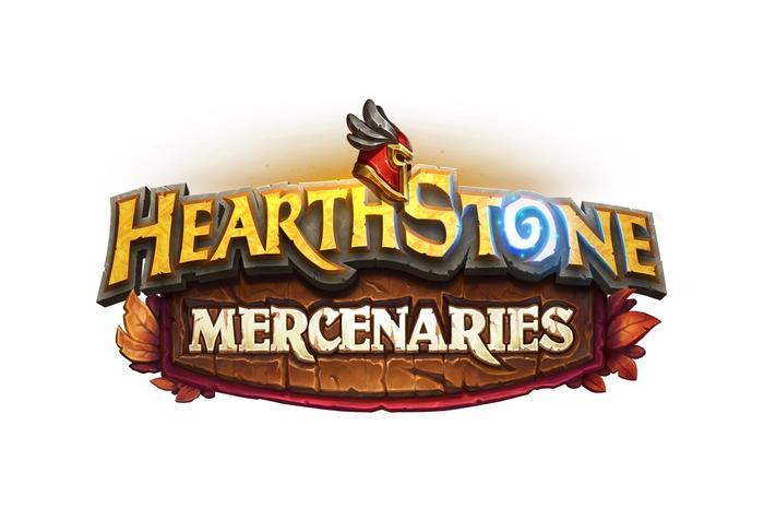 The Hearthstone mercenaries logo